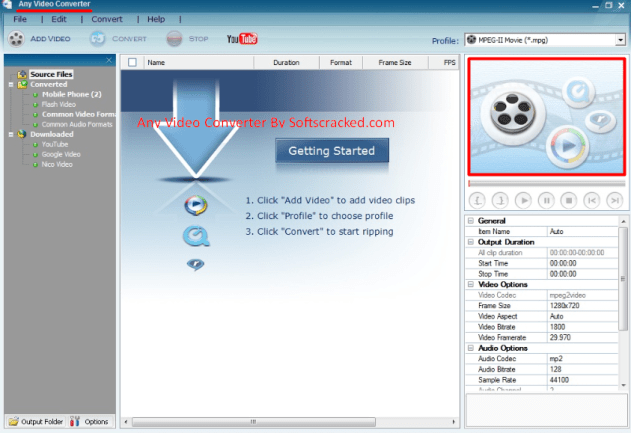 Any Video Converter Pro Crack Plus Serial Key