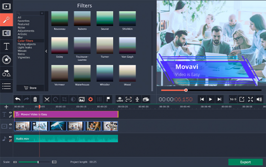 Movavi Video Editor Crack + Full Registration Code [Win+Mac]