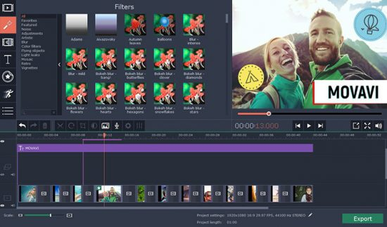 Movavi Video Editor Crack + Full Activation Key [Win+Mac]