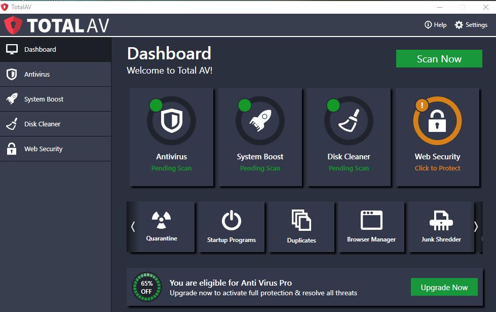 Total AV Antivirus Crack Serial Key