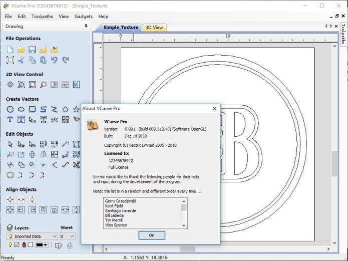 VCarve Pro Crack With License key free download