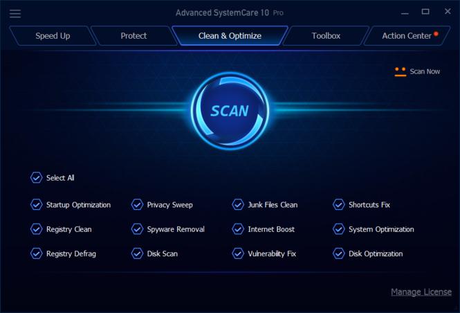 Advanced SystemCare Pro Crack + Full Serial Key
