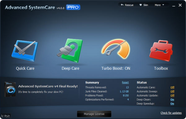 Advanced SystemCare Pro Crack Plus License Key Free Download
