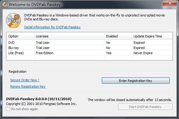 DVDFab Passkey Crack + Full Registration Key