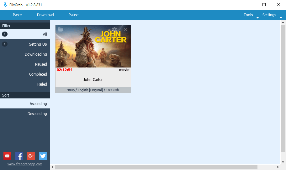 FlixGrab Premium Crack Plus Keygen Key Free Download [Updated]