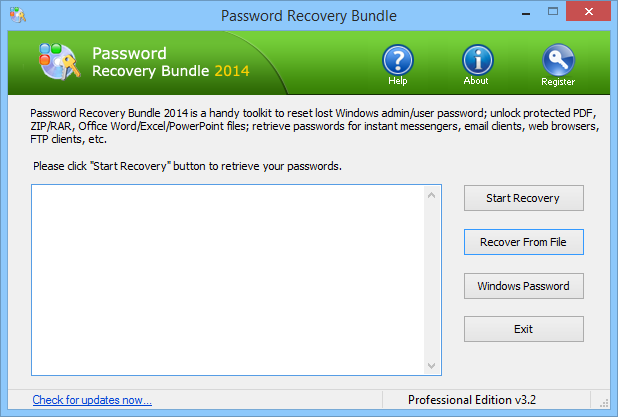 RAR Password Recovery Pro  Crack + Serial Key