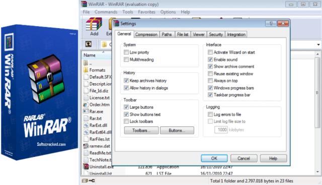 WinRAR crack with keygen & license key